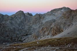 Poranek w Alpach