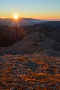 Poranek w Julijskich Alpach