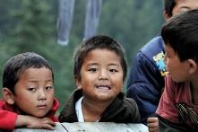 Chłopcy z Thulo Syaphru