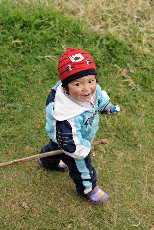 Chłopczyk z Kutumsang