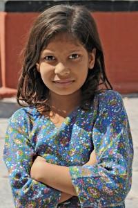 Dziewczynka z Katmandu