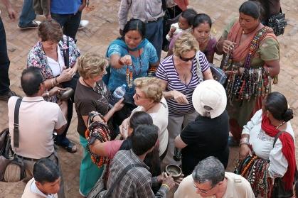 Handel na nepalskich ulicach