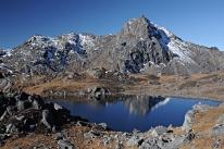 Na przełęczy Laurebina (Nepal)