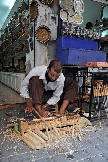 Rzemieślnik z Marrakeszu