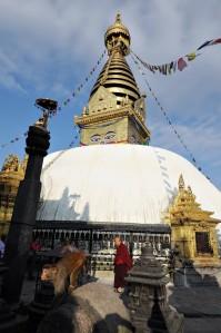 Swayambhunath, czyli Monkey Temple