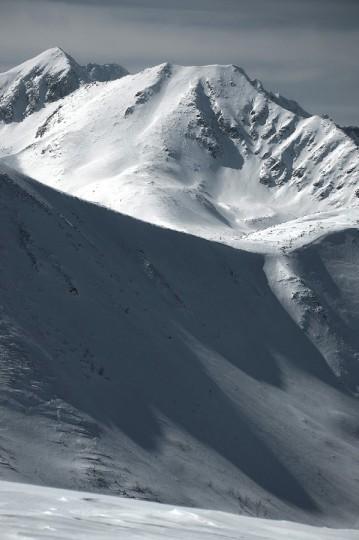 Tatry Zachodnie w zimowej szacie