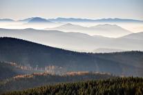 Tropiąc horyzont (Beskid Żywiecki)