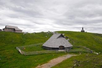 Velika Planina (Alpy Kamnicko-Sawińskie, Słowenia)