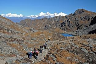 W drodze na Laurebinę (Nepal)