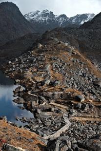 W krainie świętych jezior (Gosainkund, Nepal)
