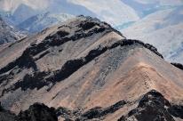Widok z Jebel Toubkal (Maroko)