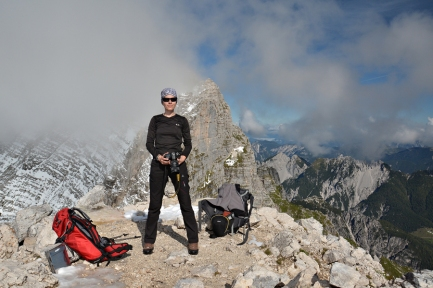 Na szczycie Cima di Terrarossa