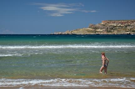 Maltańskie plaże
