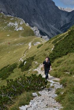 Na Kamnickiej Przełęczy