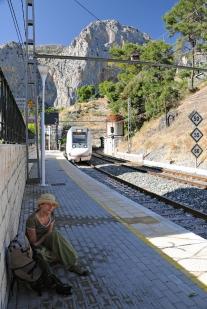 Dworzec w El Chorro