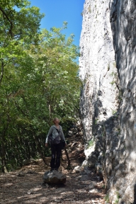 Słoneczne ściany w Črnim Kalu