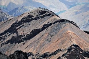 Widok z Jebel Toubkal