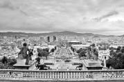 Widok z Montjuïc