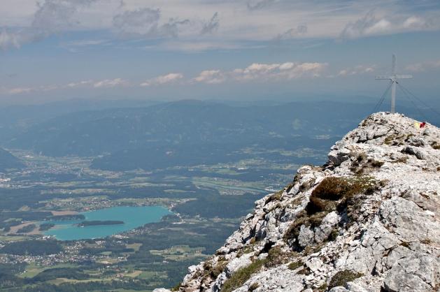 Z Kepy widok na Austrię