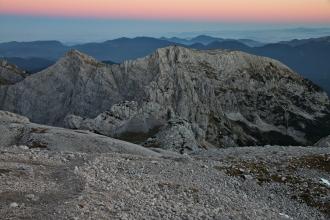 Alpejski wieczór