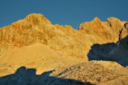 Alpy Julijskie o poranku