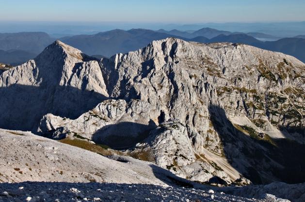Poranek w Alpach Julijskich