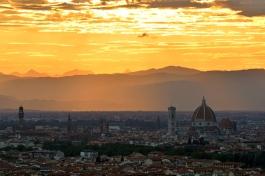 Zachód nad Duomo
