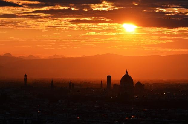 Zachód nad Florencją