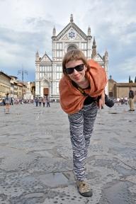 Basia na Piazza di Santa Croce