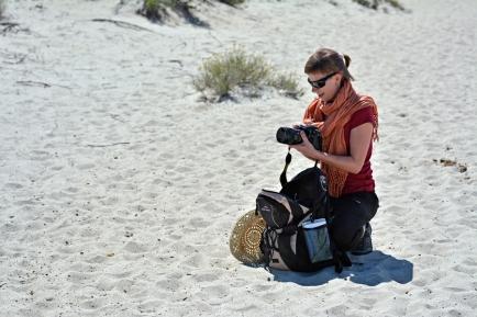 Basia na pustyni Agriates