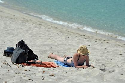 Basia na plaży