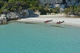 Kameralna plaża Petit Sperone