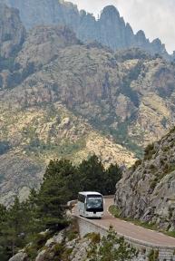 W drodze na przełęcz Bavella