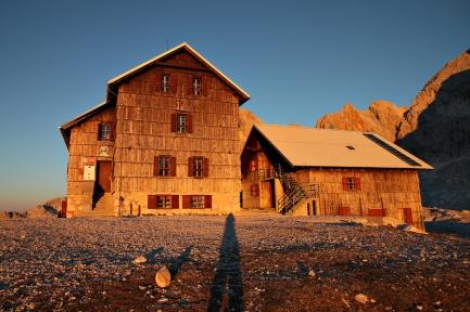 Dom Planika (Alpy Julijskie, Słowenia) - finalista w roku 2014 (fot. Basia)
