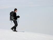Spacer ponad chmurami