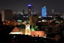 Bratysława nocą