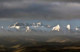 Z Pienin widok na Tatry