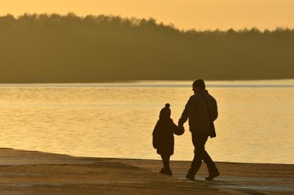 Ostatnie blaski jesieni (Jezioro Paprocańskie)