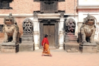 Krajobraz Bhaktapuru