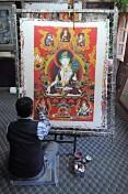 Lokalny artysta (Bhaktapur)