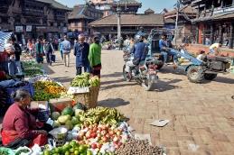 Popołudnie w Bhaktapurze
