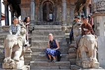 Portret międzynarodowy (Bhaktapur)
