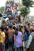 """""""Spokojne"""" popołudnie w Katmandu"""