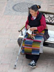 Staruszka z Katmandu