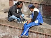 Szachiści z Durbar Square (Katmandu)