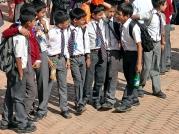 Szkolna wycieczka (Bhaktapur)