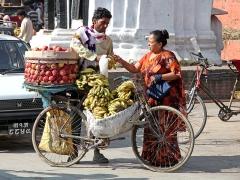 Uliczny handel (Katmandu)