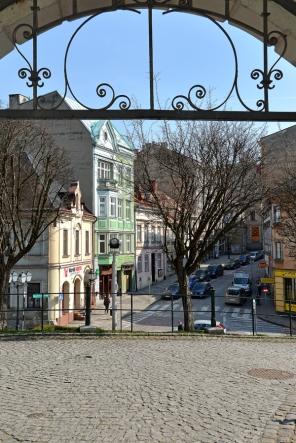 Brama do Pałacu Habsburgów na Wzgórzu Zamkowym