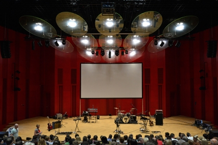 Sala koncertowa tyskiej Mediateki