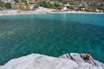 Rajska plaża Cavoli (Elba)